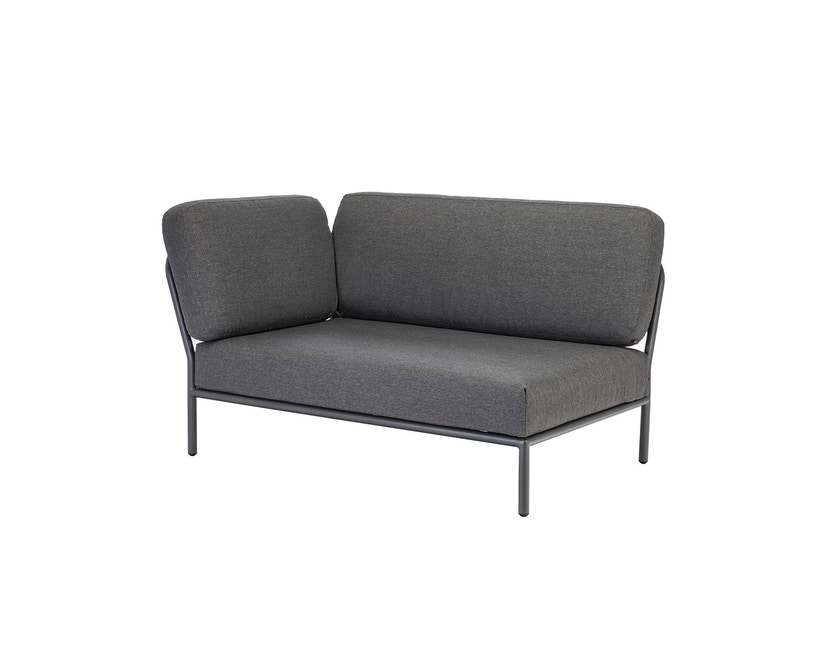 Houe - Level Lounge Sofa - grau - Armlehne links - 1