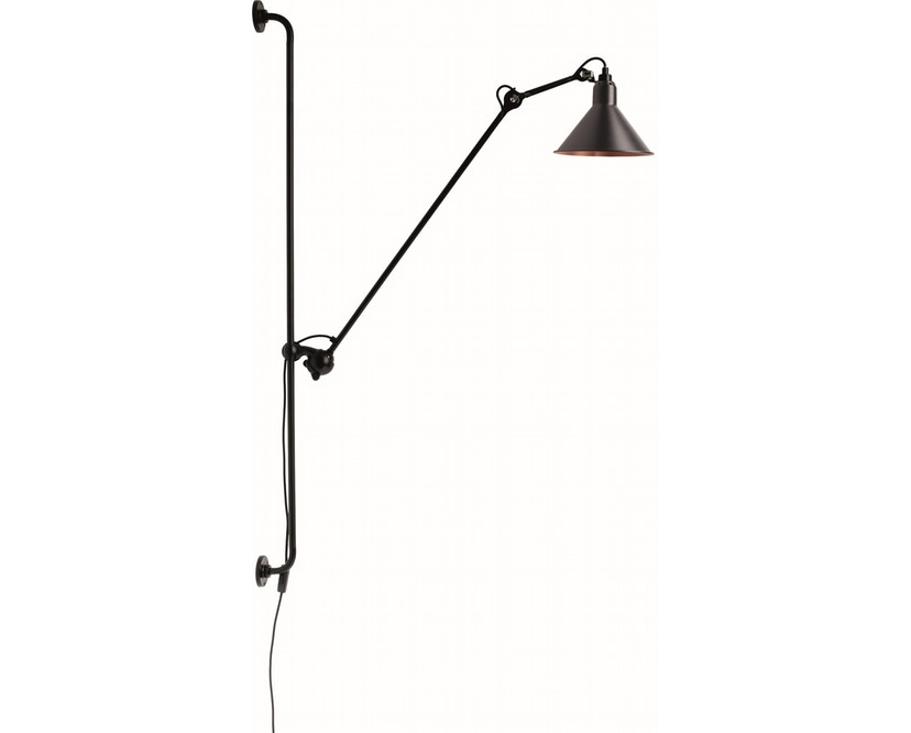 DCW éditions - LAMPE GRAS N°214 Wandleuchte - schwarz/kupfer - konisch - 1