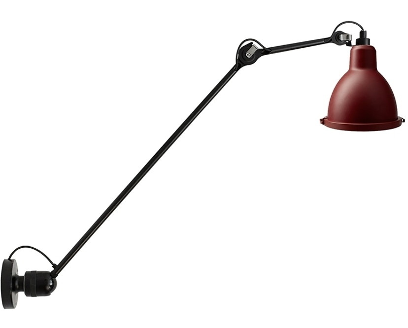 DCW éditions - LAMPE GRAS N°304 XL 75 OUTDOOR SEASIDE Wandleuchte - rot - 1