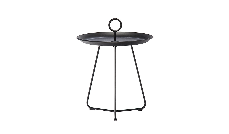 USM Haller Tisch Dreieck schwarz 1 x 1,4m 100cm Beistelltisch Tisch Ergänzung