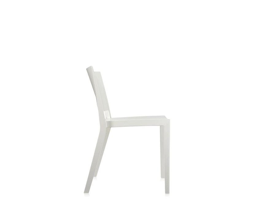 Kartell - Lizz Stuhl - hochglanz lackiert - weiß - 4