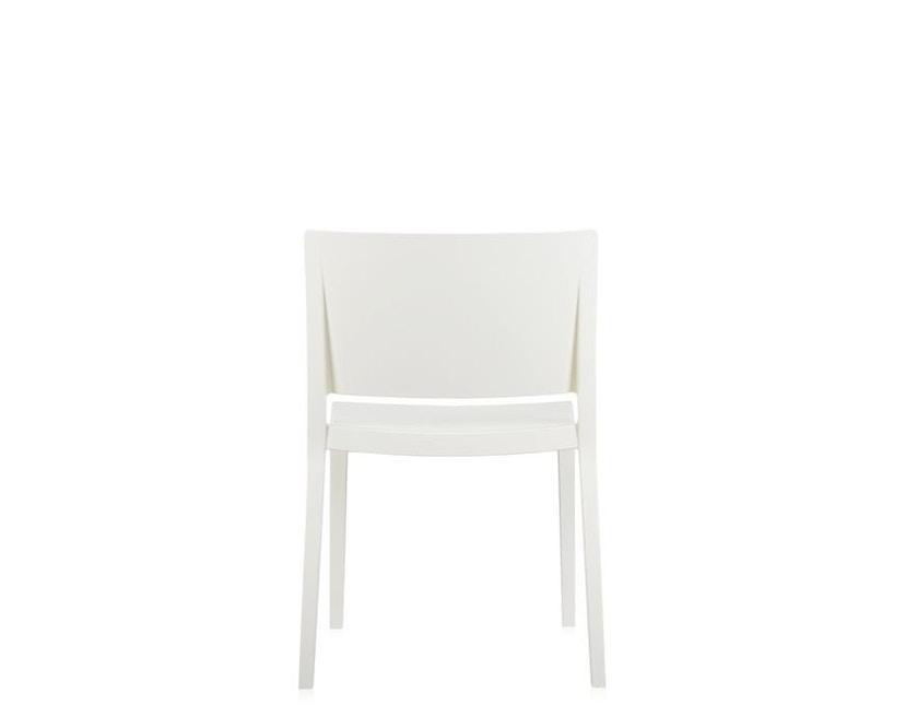Kartell - Lizz Stuhl - hochglanz lackiert - weiß - 6