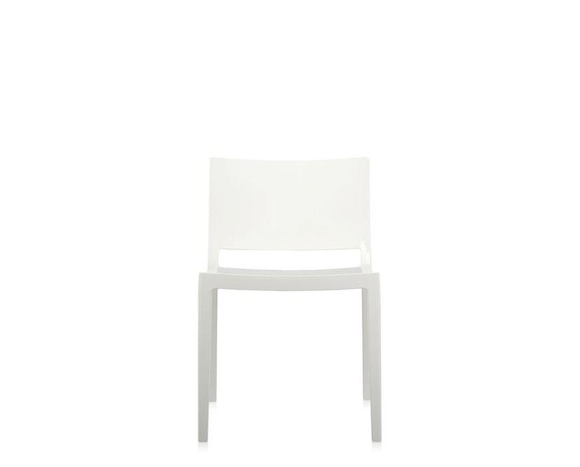 Kartell - Lizz Stuhl - hochglanz lackiert - weiß - 5