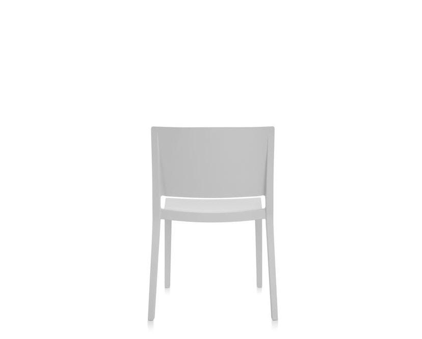 Kartell - Lizz Mat Stuhl - matt gefärbt - weiß - 4