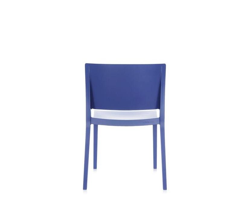 Kartell - Lizz Mat Stuhl - matt gefärbt - blau - 4