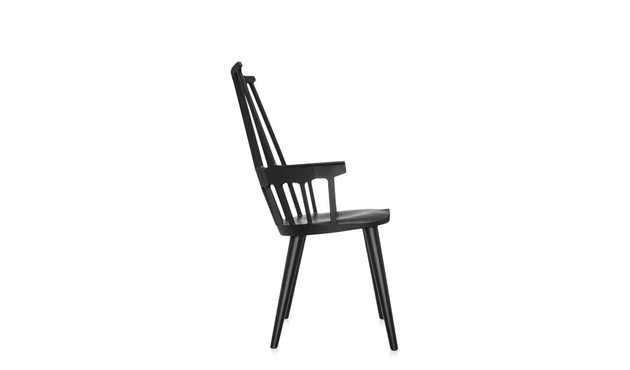 Kartell - Comback Stuhl - schwarz - 2