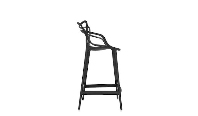 Kartell - Masters stool - S  schwarz - 2