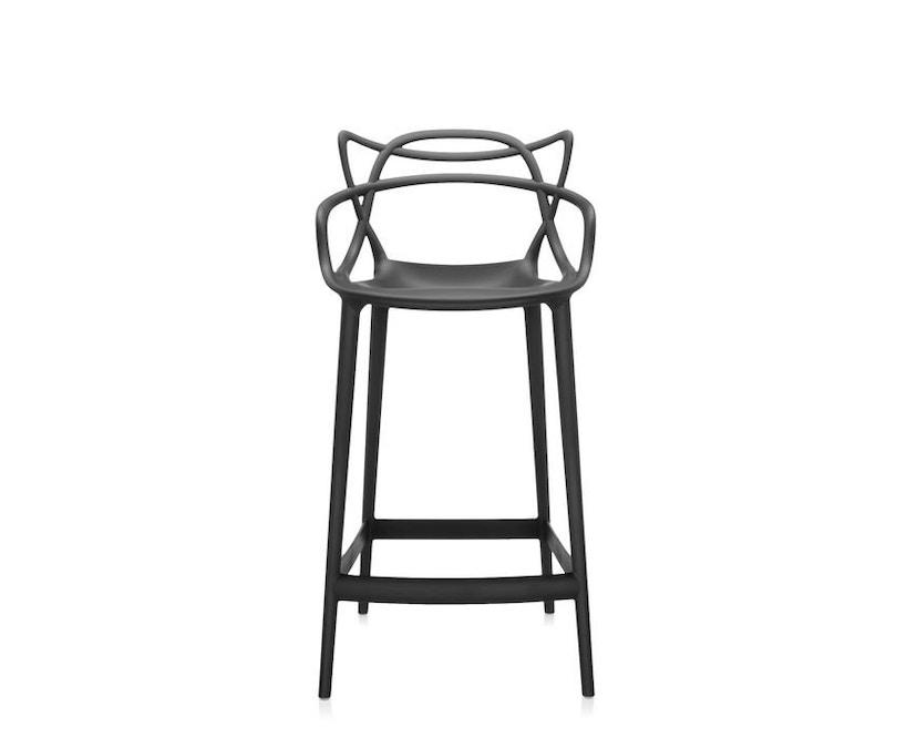 Kartell - Masters stool - S  schwarz - 1