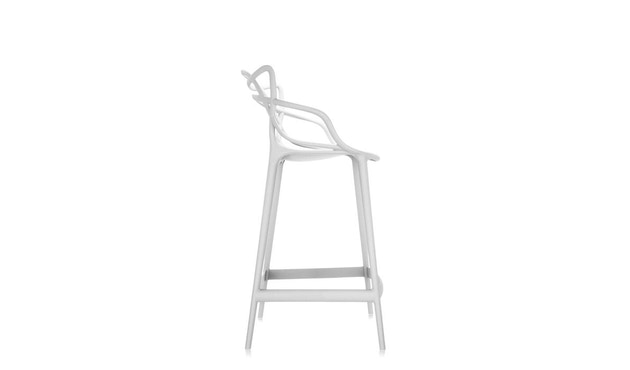 Kartell - Masters stool - S  weiss - 2