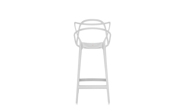 Kartell - Masters stool - S  weiss - 3