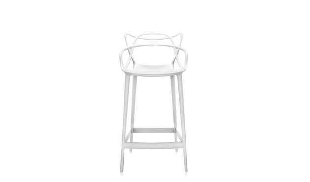 Kartell - Masters stool - S  weiss - 1