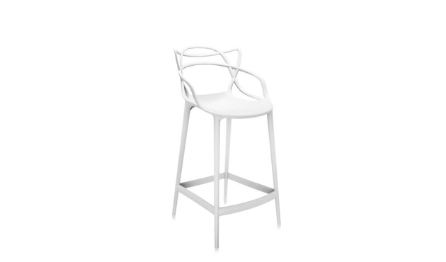 Kartell - Masters stool - S  weiss - 4