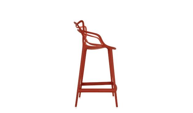 Kartell - Masters stool - S  rostbraun - 2