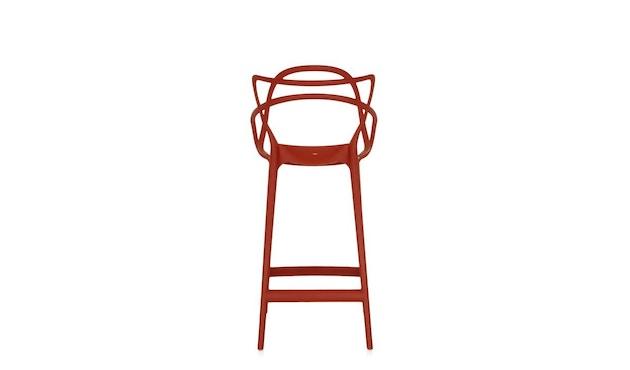 Kartell - Masters stool - S  rostbraun - 3