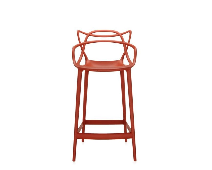 Kartell - Masters stool - S  rostbraun - 1
