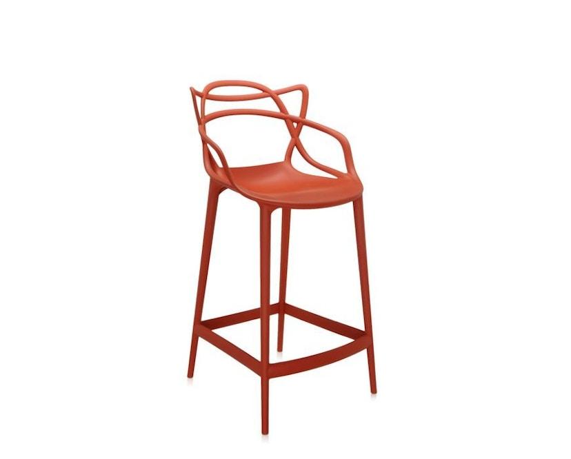 Kartell - Masters stool - S  rostbraun - 4