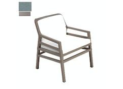 Nardi - Aria Fit Outdoor Lounge Stuhl - taubengrau/grau