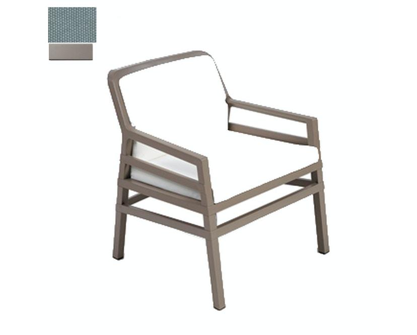 Nardi - Aria Fit Outdoor Lounge Stuhl - taubengrau/grau - 1