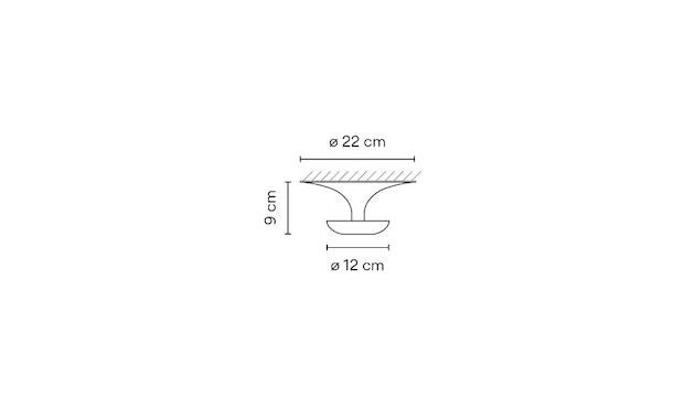 Vibia - Funnel Deckenleuchte - ø22 cm -  - 2