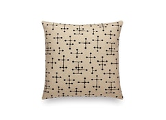 Vitra - Maharam Kussen Small Dot Pattern Document - donker - 1
