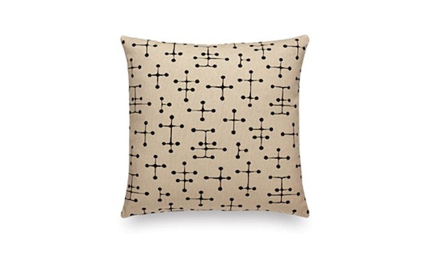 Vitra - Maharam Kissen Small Dot Pattern Document - dunkel - 1