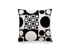 Vitra - Maharam Kussen Geometri - zwart / wit - 1