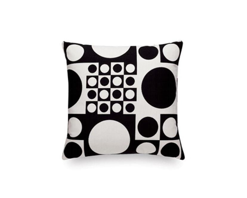 Vitra - Coussin Maharam Geometri - noir/blanc - 1