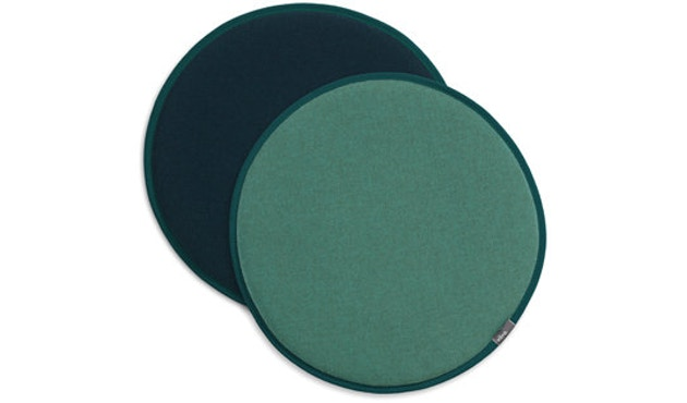 Vitra - Coussin d'assise Seat Dots Update - mint/forest - pétrole/nero - 1