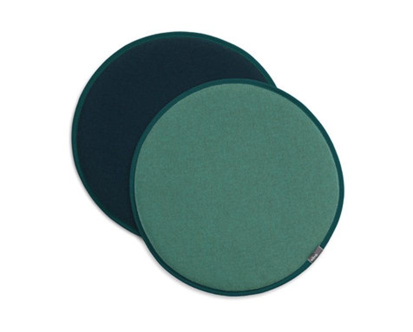 Vitra - Zitkussen Seat Dots Update - mint/forest - petrol/nero - 1