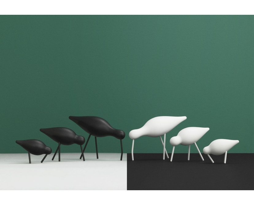 Normann Copenhagen - Shorebird - wit/wit - S - 4