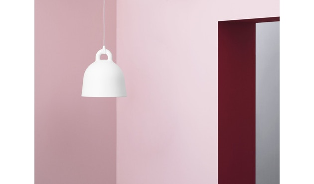 Normann Copenhagen - Bell Leuchte - wit - Ø 22 cm - 9