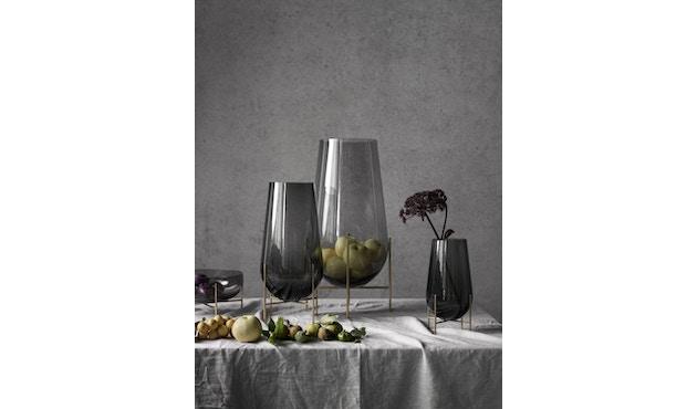 Menu - Vase Échasse - verre fumé - S - 4