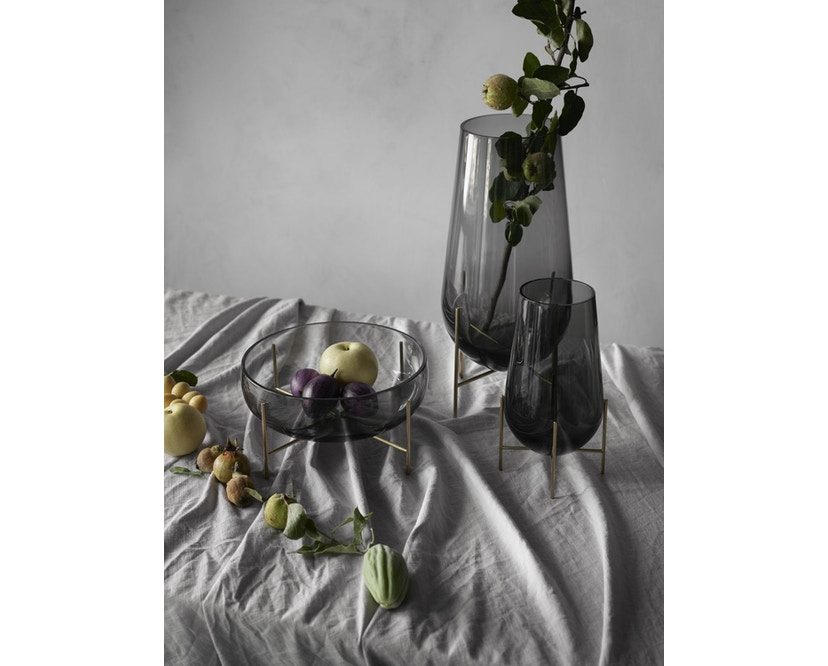 Menu - Echasse Vase - S - rauchglas - 5