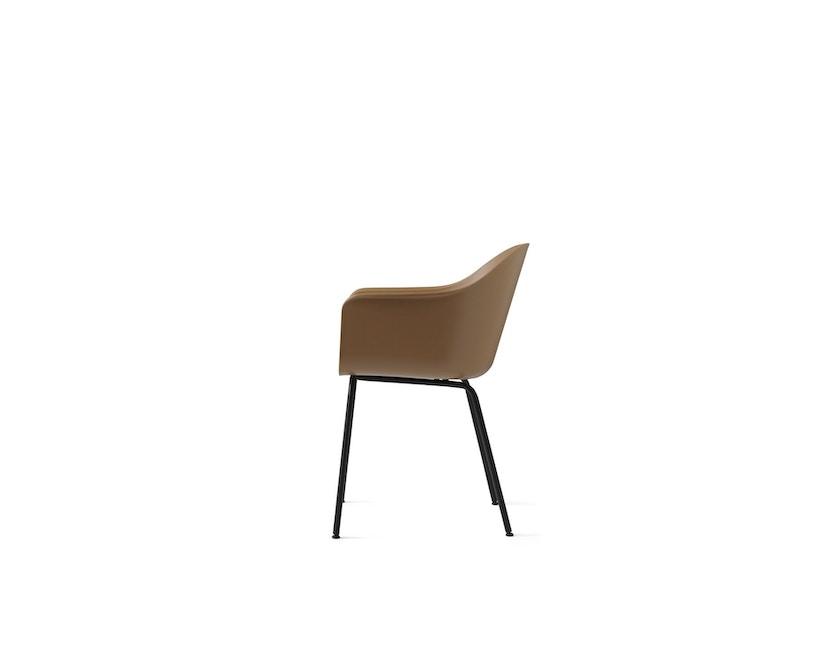 Menu - Harbour Dining Chair ohne Polster, Khaki - Black Steel - 3