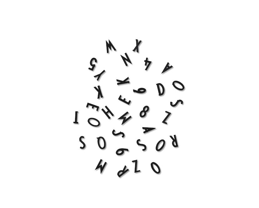 DESIGN LETTERS - Buchstaben-Set - S - Schwarz - 1