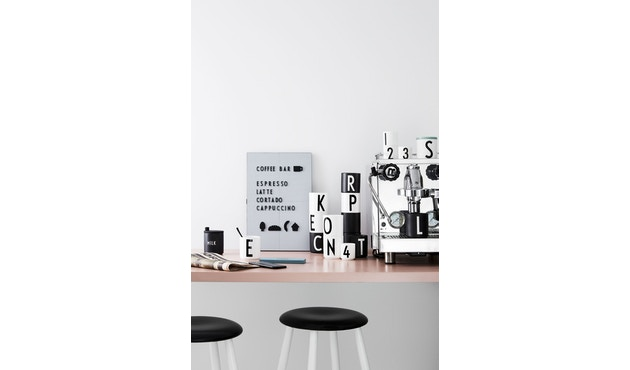 DESIGN LETTERS - Message bord - donkergroen - A4 - 4