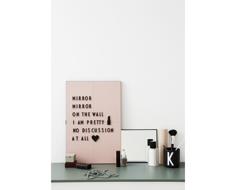 DESIGN LETTERS - Message bord - donkergroen - A4 - 6
