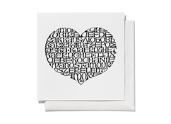 Greeting Cards - International Love Heart -