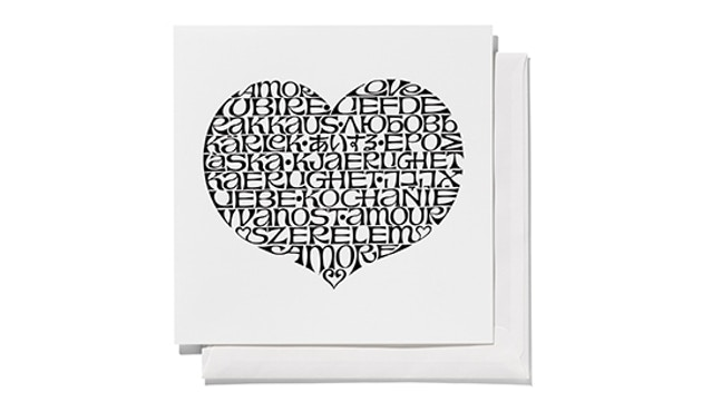 Vitra - Greeting Cards - International Love Heart -  - 1