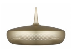 Clava Dine hanglamp - wit - goud