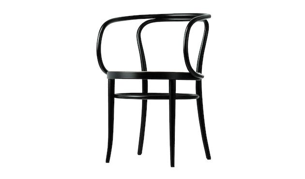 Thonet - 209/ 209 M stoel - geazureerd gebeitst - multiplex komzitting - 1