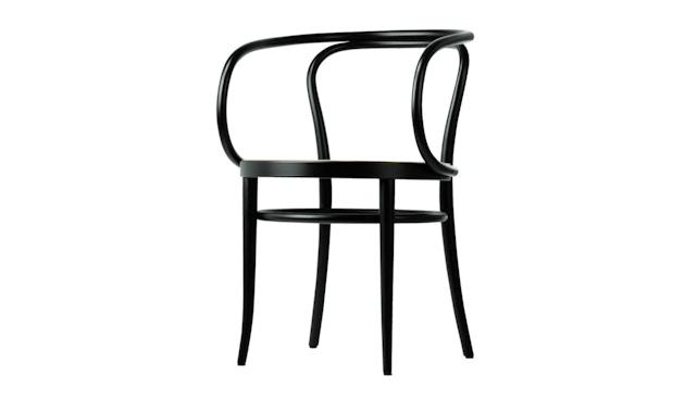 Thonet - 209/ 209 M stoel - multiplex komzitting - notenboomkleuren gebeitst - 1
