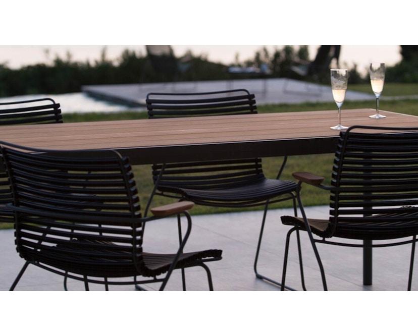 Houe - Four Outdoor Tisch -  Aluminium  - 90 x 90 cm - 2