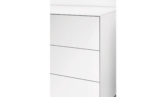 Piure - Nex Pur Box mit Schubkasten - weiß - B120 - H52,5 - 25