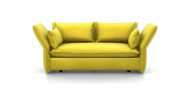Vitra - Mariposa 2-Sitzer Sofa - Iroko 2, 01 limone - 1