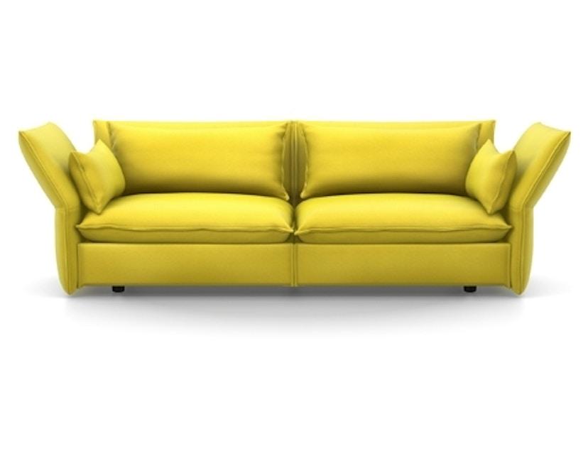 Vitra - Mariposa 3-Sitzer Sofa - Iroko 2, 01 limone - 1