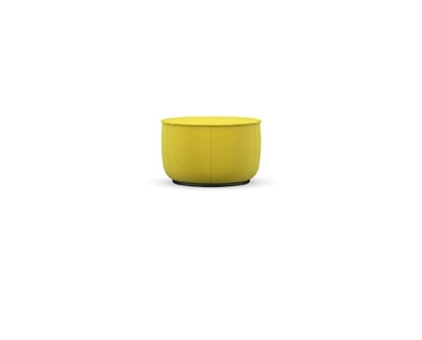 Vitra - Mariposa Ottoman - medium - Iroko 2, 01 limone - 1