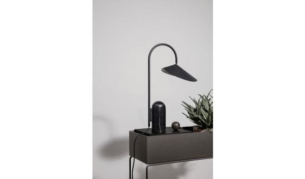ferm LIVING - Tablett für Plant Box - schwarz Eiche  - 2
