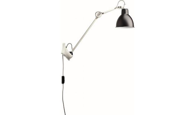 DCW éditions - LAMPE GRAS N°222 Wandleuchte weiß - schwarz - rund - 1