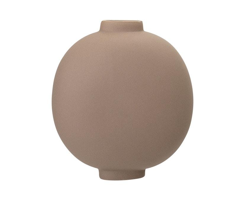Bloomingville - Vase, Braun, Steingut - 0
